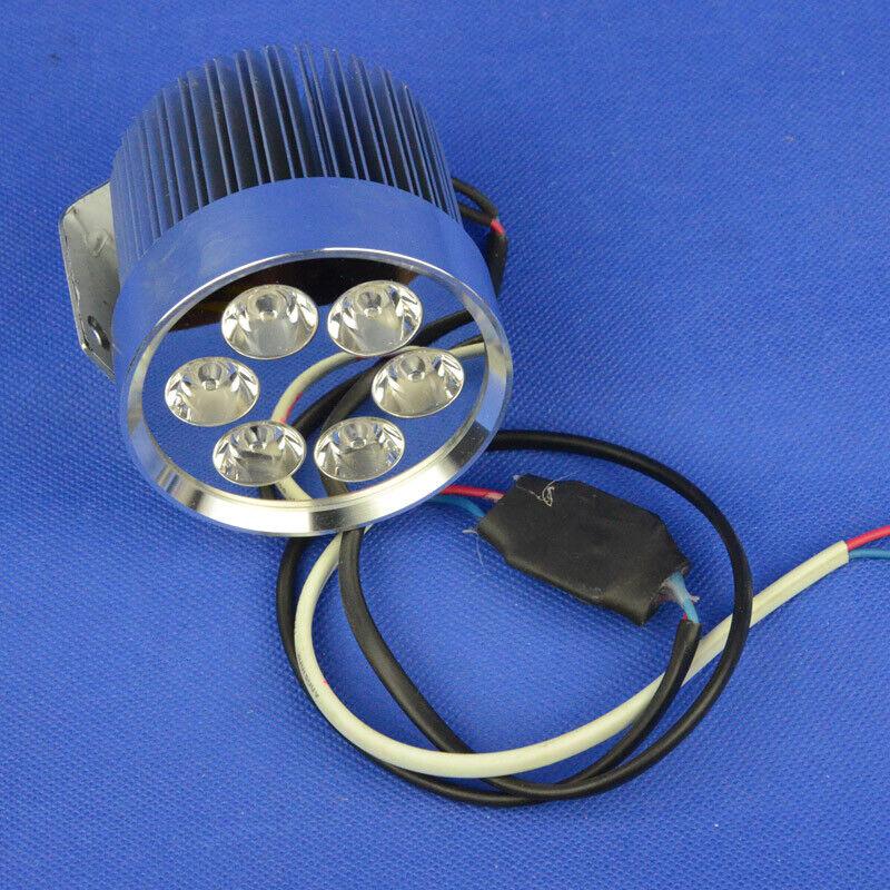12-90V 18w DIY led head light  white motorcycle e-bike strobe high low 72V 36 48V  cheapest price