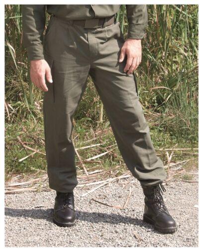 Nouveau Original Armée Pantalon Pantalon Olive Noir Coton Moleskine 1-15