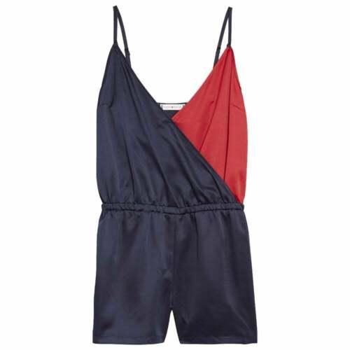 Navy Blazer Tommy Hilfiger Women Colour Blocked Playsuit