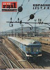 la vie du rail N°1093 du 23 avril 1967 ESPAGNE les TER