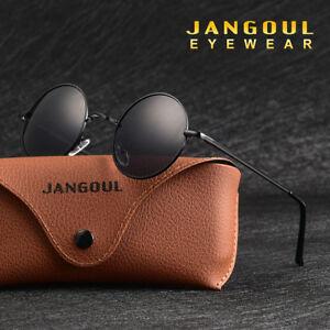 Round-Polarized-Sunglasses-Hippie-Retro-Vintage-John-Lennon-Sunglasses-Eyewear-1