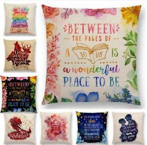 Home Textile Humorous Pillowcases Decorative Pillows Fashion Home Decor Cotton Linen Throw Pillow Case Sofa Waist Cushion Cover Mar30 Table & Sofa Linens