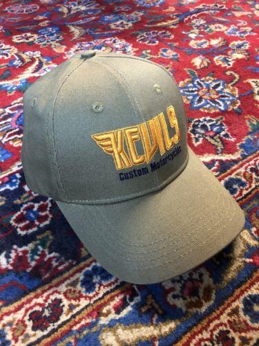 Kevils Speed Shop Berretto Da Baseball Cappello Custom Cafe Racer bobber scrambler camionisti