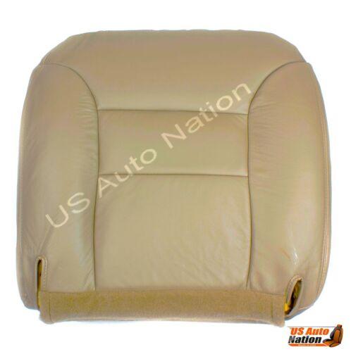 1996 1997 98 1999 GMC Yukon Sierra Front Leather  Seat Cover PASSENGER Bottom