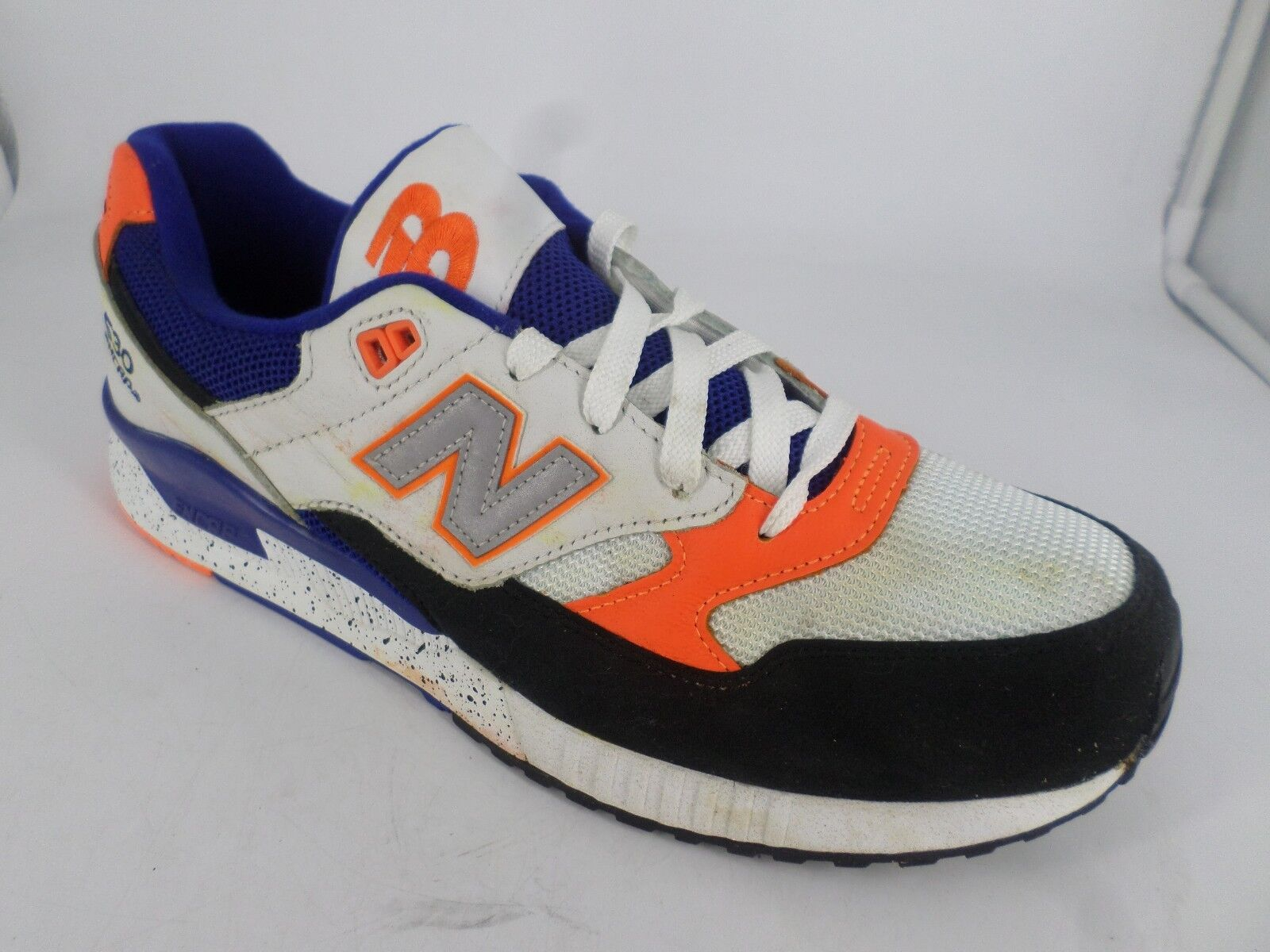 New Balance 530 Encap Trainers White, bluee & orange LN087 UU 10