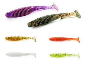 10 Stück FishUp Wizzle Shad 2 Gummiköder Gummifisch FARBENAUSWAHL! 55mm