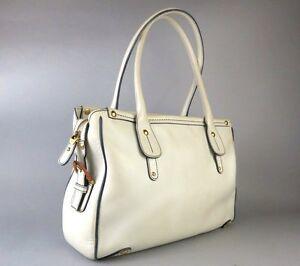 222c6495c796 Image is loading 100-Auth-Salvatore-Ferragamo-Gancini-Leather-Shoulder-Bag-