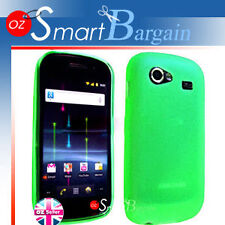 GREEN Soft Gel TPU Case F Samsung Google Nexus S i9020