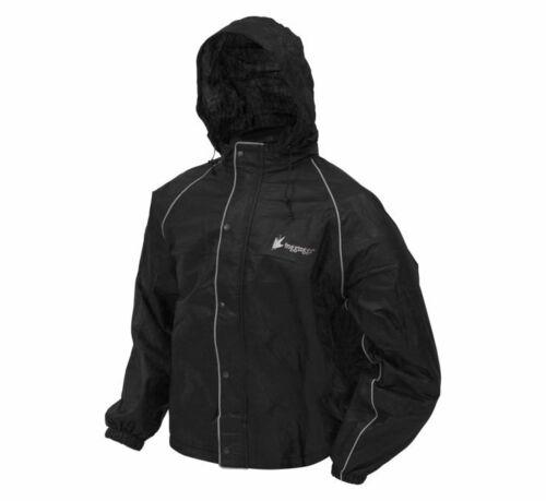 Frogg Toggs Road Toad Rain Jacket XL Black FT63133-01-XL
