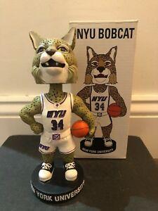 Details about NYU New York University Bobcat Mascot Basketball Bobblehead,  Violets,