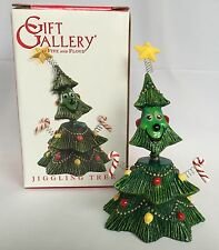 Fitz And Floyd Jiggling Smiling Christmas Tree Figure In Box 2005 Gift Gallery