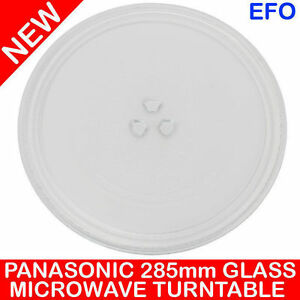 Panasonic 285mm Glass Turntable Plate For 23l Microwave