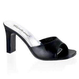 sports shoes 24608 b58f1 Moderne Fabulicious Damen Pantolette Romance 301 2 schwarz Lederoptik Gr e  35. Nike Air Max ...