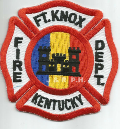 """ARMY Fort Knox 3.5/"""" x 3.5/"""" size Kentucky fire patch"""