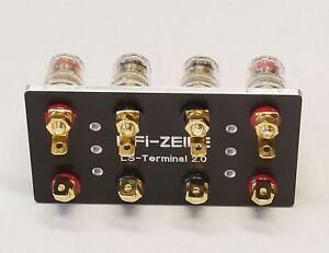 HiFi-ZEILE-Service-Luxman-M02-Hochwertiges-LS-Anschlussterminal