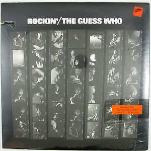 "GUESS WHO Rockin"" LP  1972 ROCK (STILL SEALED/UNPLAYED)"