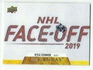 2020-21 #C89 serie 1 de lona UD Kyle Connor-Winnipeg Jets