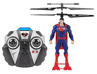 WORLD TECH TOYS Remote-Control Superman Helicopter 33712