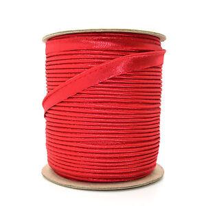 10mm High Quality White Edging Trimming Piping Ribbon Trim Lame Sewing K101