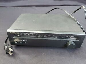 Tested-Radio-Shack-OPTIMUS-TM-155-31-1958-AM-FM-Stereo-Mono-Compact-Tuner
