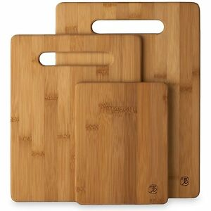 Beautiful-Totally-Bamboo-3-Piece-Cutting-Board-Set-20-7930-3-Boards-New