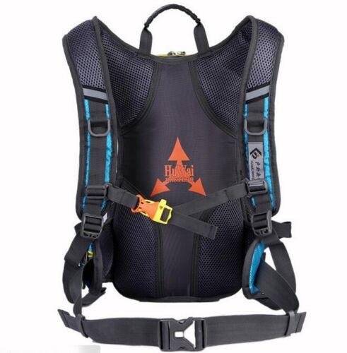 15L Fahrrad Radfahren Rucksack Camping Helmtasche 2L Wasserbeutel Regenschutz