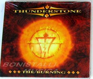 THUNDERSTONE - THE BURNING - CD Bonus Tracks Sigillato - Italia - L'oggetto può essere restituito - Italia