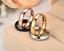 Anello-Anelli-Fede-Fedina-Uomo-Donna-Unisex-Acciaio-Cristallo-Fidanzamento-Love miniatura 3
