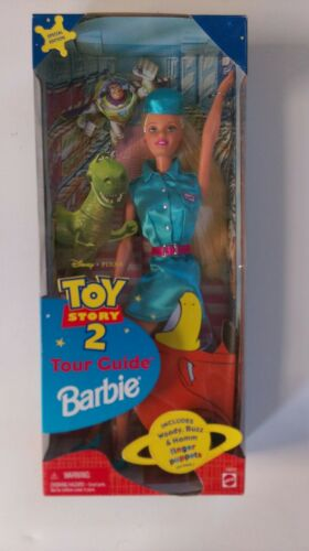 Toy Story 2 Tour Guide Barbie Doll Disney Pixar special edition Mattel 1999