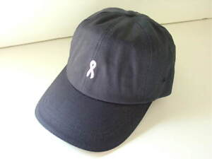 Breast-Cancer-Blue-Cotton-SHARE-THE-CARE-Blue-Hat-Cap-Womens-Size-OSFA-NEW-NWT