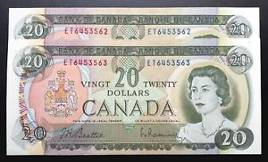 1969-BANK-OF-CANADA-20-Beattie-amp-Rasminsky-Consecutive-Pair-BC-50a-UNC