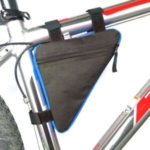 Cycling Bike Front Tube Pouch Holder Saddle Bags Accessories Mountain Bike
