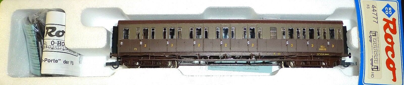 Roco 44777 FS 2 ° 3 ° CL. personwagen BCZ 66533 Carriage with compartments