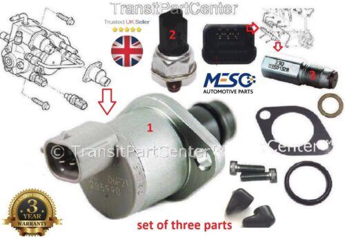 Ford Transit 2.4 TDCi Kit de Sensor de válvula de combustible denso MK7 Nuevo