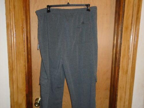 Men/'s i5 Apparel Charcoal Gray Cargo Sweatpants Big /& Tall 3X or 4X NWT