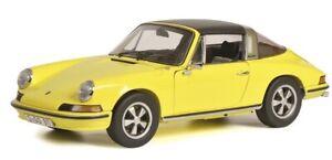 Schuco-00364-1-18-Porsche-911S-Taga-Jaune-Mhi-Modele-Special-Neuf