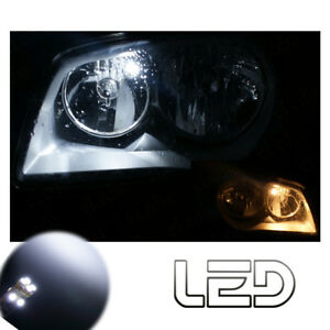 MINI-2-R56-R57-Cooper-S-D-One-2-Ampoules-LED-Blanc-Veilleuses-position-Canbus