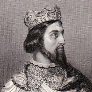 Portrait-XIXe-Henri-Ier-Capetiens-Roi-Des-Francs-Duc-De-Bourgogne-Gavard