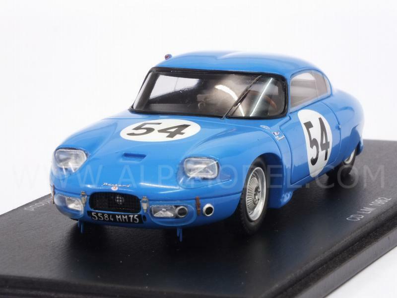 precio razonable CD Panhard Le Mans 1962 Lelong - Hanrioud 1 43 43 43 SPARK S4711  hasta un 65% de descuento