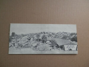 Vintage-La-Siesta-Motel-Arizona-AZ-Map-Brochure