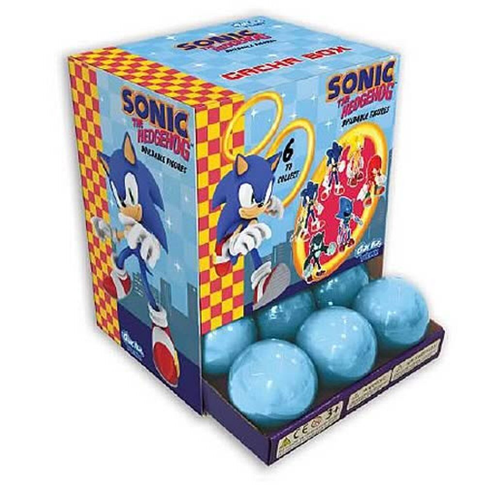 Sonic the Hedgehog Buildable Buildable Buildable Mini-Figures Display Box 18pcs - NEW  9269c3