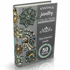 Details about 50 Rare Jewellery Books on DVD Vintage Jewelry Making  Hallmarks Gold Diamonds