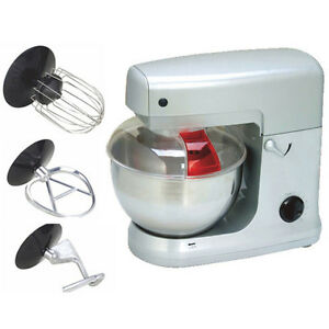 NEW-ELECTRIC-FUSION-1000W-WATT-FOOD-STAND-MIXER-BOWL-amp-FOOD-GUARD-DOUGH-MAKER-5L