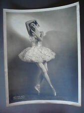PHOTO VINTAGE DANSEUSE CALIFORNIENNE EDUA BREYMAN 1945 BALLETS RUSSES
