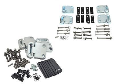 Land Rover Defender 90 //110 Series 3 Full Front Door Hinge Kit /& Bolts DA1070