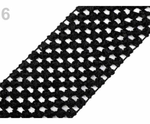 1m Crochet Elastic Stretch Band Width 7cm Tutu Other Knit Haberdashery