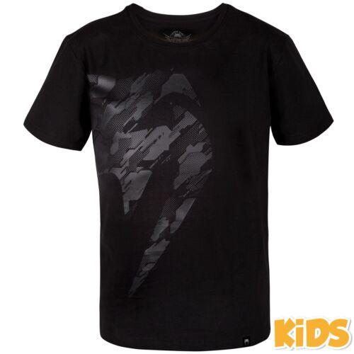Venum Kids Tecmo Giant MMA T-shirt Childrens Kickboxing Tee Martial Arts Top