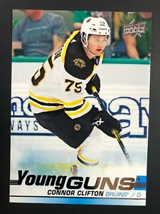 2019-20-UD-Young-Guns-Rookie-Connor-Clifton