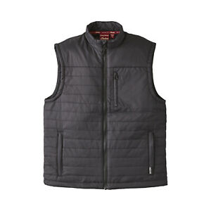 Indian Motorcycle Men's Thermo Zip-Up Undervest, Black