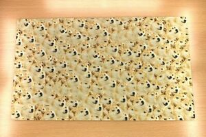 D994 Doge Kabosu Custom Playmat Yugioh MTG Vanguard Pokemon Anime TCG Desk Mat
